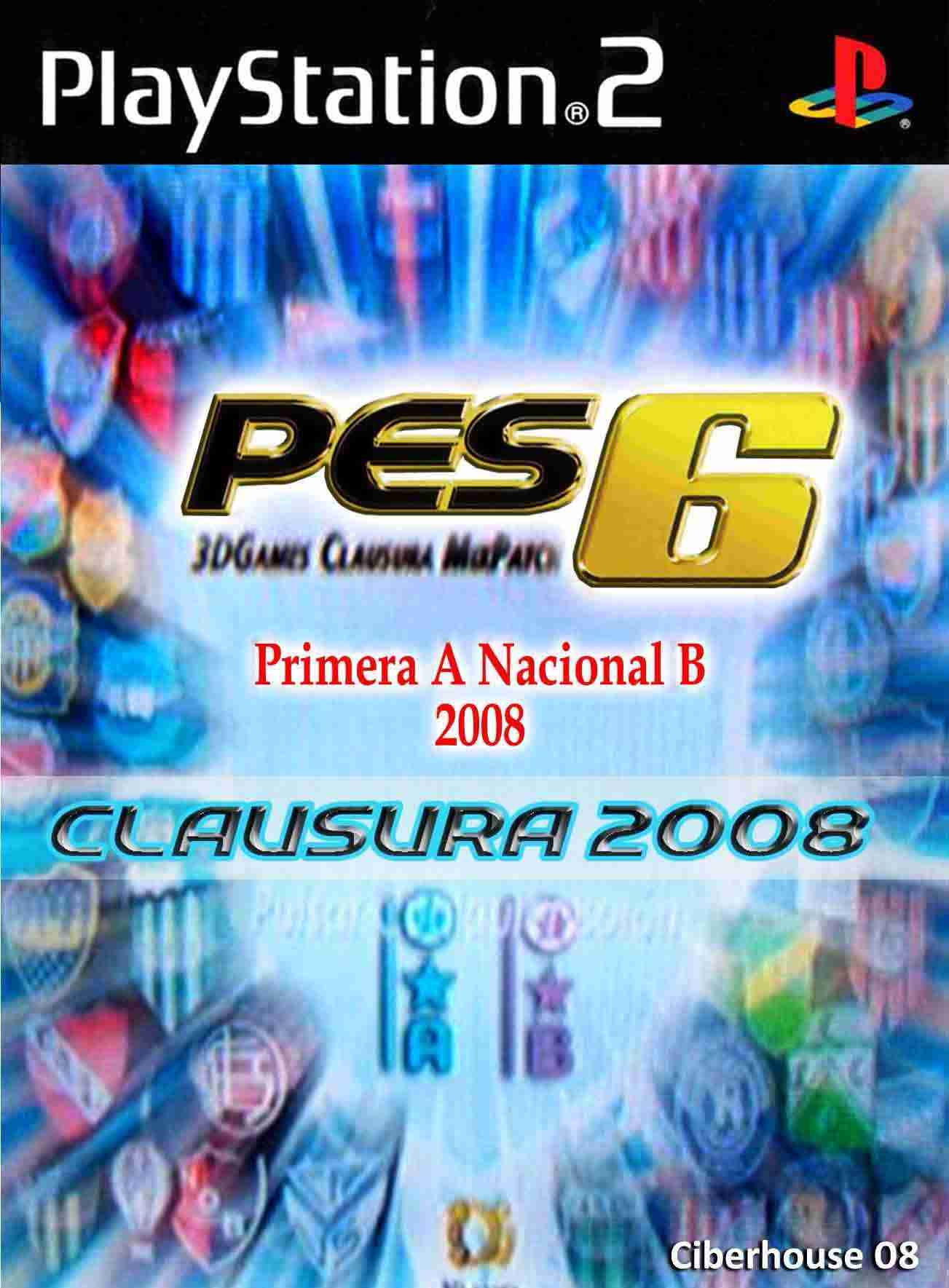 Descargar PES 6 Clausura 2008 Argentino [Spanish] por Torrent